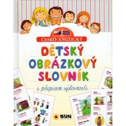 Č-A Dětský obrázkový slovník s  přepisem výslovnosti