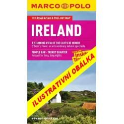 Irsko - Průvodce se skládací mapou