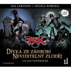 Pax 3 & 4 - Dívka ze záhrobí & Neviditelný zloděj - CDmp3 (Čte Jan Vondráček)
