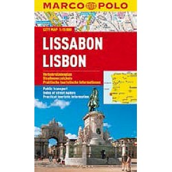 Lissabon/Lisbon - City Map 1:15000