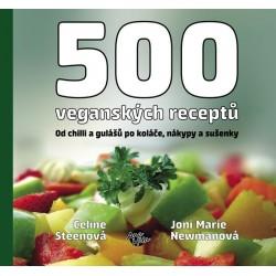 500 veganských receptů - Od chilli a gulášů po koláče, nákypy a sušenky