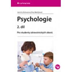 Psychologie 2. díl - Pro studenty zdravotnických oborů