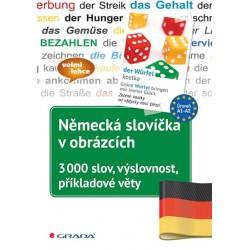 Německá slovíčka v obrázcích - 3000 slov, výslovnost, příkladové věty