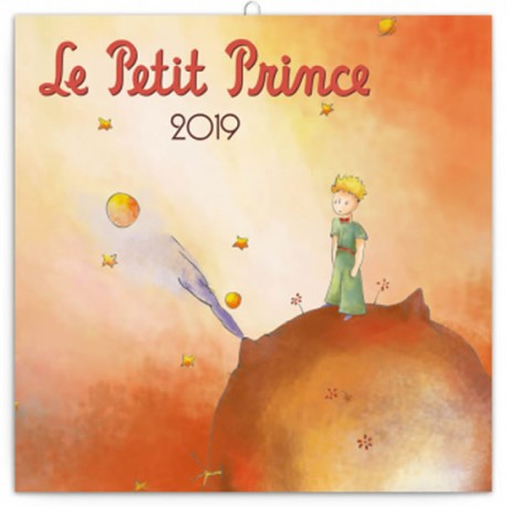 Kalendář poznámkový 2019 - Malý princ, 30 x 30 cm