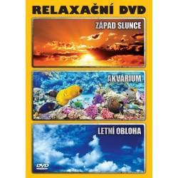 Relaxační DVD - Západ slunce * Akvárium * Letní obloha