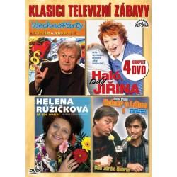 Klasici televizní zábavy - 4 DVD