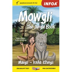 Mauglí - Kniha džunglí / Mowgli - The Jungle Book - Zrcadlová četba (A1-A2)