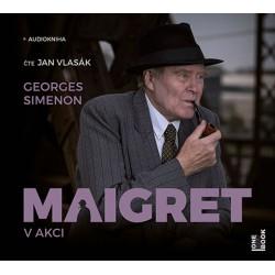 Maigret v akci - CDmp3 (Čte Jan Vlasák)