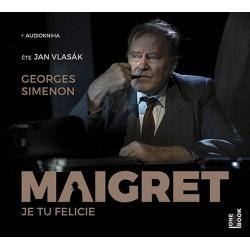Maigret - Je tu Felicie - CDmp3 (Čte Jan Vlasák)