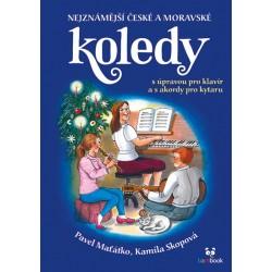 Nejznámější české a moravské koledy s úpravou pro klavír a s akordy pro kytaru