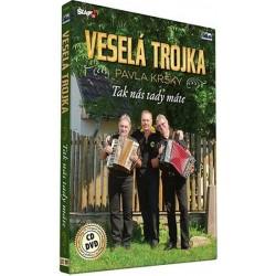 Veselá trojka - Tak nás tady máte - CD+DVD
