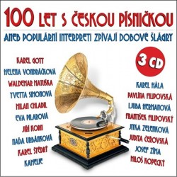 100 let s českou písničkou aneb populární interpreti zprívají dobové šlágry - 3 CD