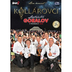 Kollárovci live - CD + DVD
