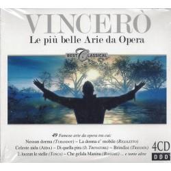 VINCERÓ Le piu belle Arie da Opera - 4 CD