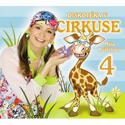 Zpíváme a tančíme s Míšou 4 - Diskotéka v cirkuse - CD