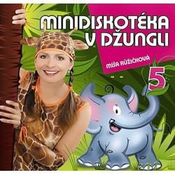 Zpíváme a tančíme s Míšou 5 - Minidiskotéka v džungli - CD