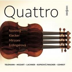 Quattro: Telemann-Mozart-Lachner-Kupkovič/Wagner-Gemrot - CDmp3