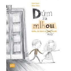 Dům za mlhou - Kniha, do které se musí kreslit + sada tužek