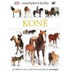 Koně - Samolepková knížka