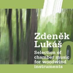 """Zdeněk Lukáš """"90"""" - Selection of chamber music for woodwind instruments - CD"""