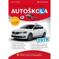 Autoškola 2019 - Moderní učebnice a testové otázky