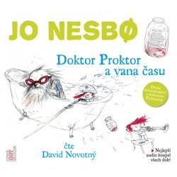 Doktor Proktor a vana času - CD (Čte David Novotný)