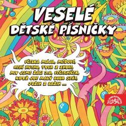 Veselé dětské písničky - 2 CD