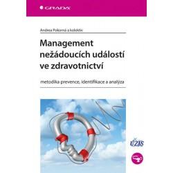 Management nežádoucích událostí ve zdravotnictví - Metodika prevence, identifikace a analýza