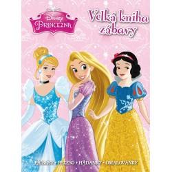 Princezna - Velká kniha zábavy - příběhy, pexeso, hádanky, omalovánky