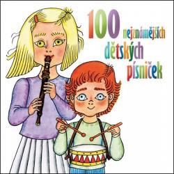 100 nejznámějších dětských písniček - 2 CD