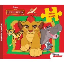 Disney Junior - Lví hlídka - Kniha puzzle - Poskládej si pohádku