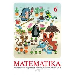 Matematika sešit 6 pro 2. ročník ZŠ