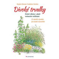 Divoké trvalky - Krásné záhony s planě rostoucími rostlinami, 22 návrhů výsadeb pro každé stanoviště