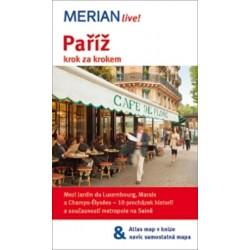 Merian - Paříž krok za krokem