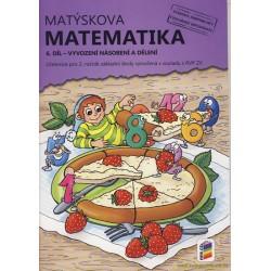 Matýskova matematika, 6. díl - Vyvození násobení a dělení