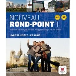 Nouveau Rond-Point A1-A2 – Livre de léleve + CD