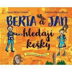 Berta a Jan hledají kešky