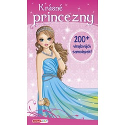 Krásné princezny - 200 vinylových samolepek