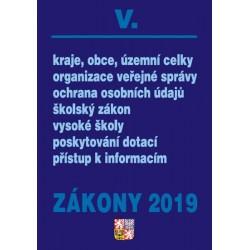 Zákony 2019 V.