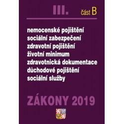 Zákony 2019 III. část B