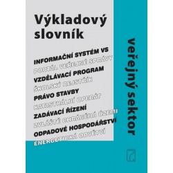 Výkladový slovník veřejný sektor