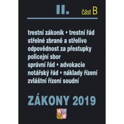 Zákony 2019 II. část B