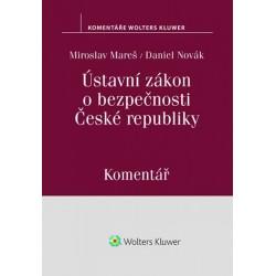 Ústavní zákon o bezpečnosti České republiky - Komentář