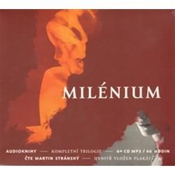 Milénium - kompletní trilogie - 6 CDmp3 (Čte Martin Stránský)