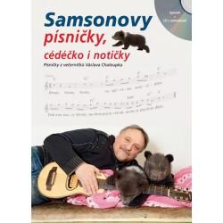 Samsonovy písničky, cédéčko i notičky - Zpěvník + CD s nahrávkami