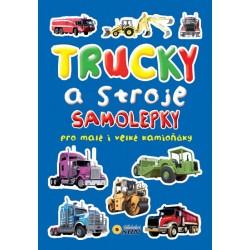 Trucky a stroje - samolepky pro malé kamióňáky