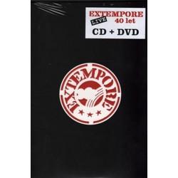 Extempore 40 let - CD + DVD