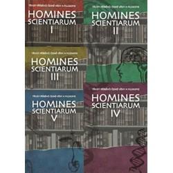 Homines scientiarum I–V - komplet 5 knih + 5 DVD