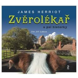 Zvěrolékař a psí historky - 2 CD (Čte Jiří Lábus)