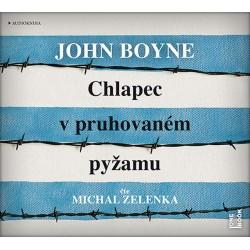 Chlapec v pruhovaném pyžamu - CDmp3 (Čte Michal Zelenka)
